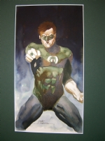 Scott Hampton Green Lantern Comic Art