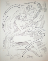 George Prerez Storm Comic Art