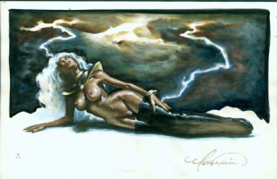 Texeira Storm Comic Art