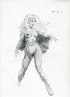 Dan Morton Nude Storm Comic Art