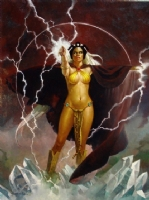 Sanjulian Storm  Comic Art