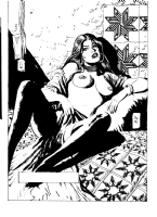 Jordi Bernet sexy female Comic Art