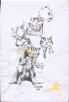 Robert Crumb Fritz the Cat Comic Art