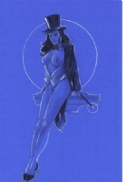 Phil Noto Nude Zatanna Comic Art