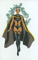 Phil Noto Storm Comic Art
