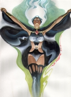 Steve  Rude Storm Comic Art