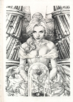 Belle by Jay Anacleto Comic Art