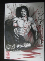 The Crow - James O'Barr Comic Art