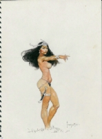 A Princess of Mars Frazetta Masterpiece Comic Art