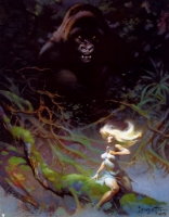 A Frazetta Masterpiece Comic Art