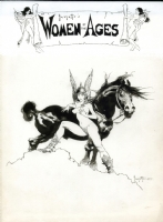 Frazetta's Women of the Ages Portfolio Cover Illustration Comic Art