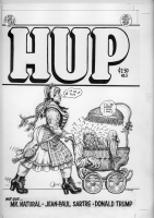 HUP #3:(Cover)  R. CRUMB Comic Art