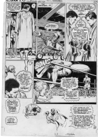Muhammad Ali vs. Superman pg. 33 Comic Art