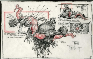 The Thing Comic Art