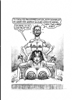 NWS-!!! Bill Ward Debbie pencil drawing (A) 1980's Comic Art