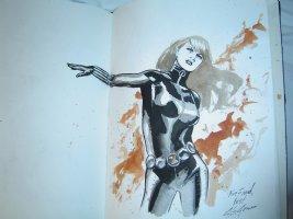 Black Widow by J.G. Jones Comic Art