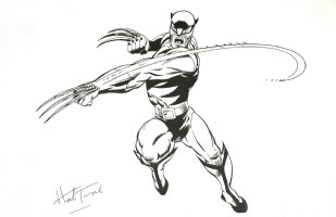 Wolverine Herb Trimpe Commission Comic Art