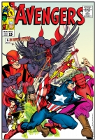 Avengers 6 Cover (One Minute Later) Comic Art