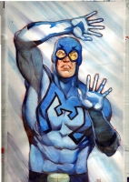 Blue Beetle Comic Art