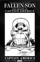Thanos - George Perez Comic Art