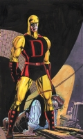 Tim Sale Daredevil Yellow Comic Art
