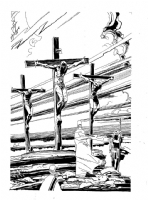Bible Page Comic Art