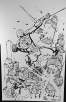 Spider-man Green Goblin - Gil Kane Comic Art