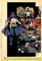 Who's Handbook - The Grim Reaper COLOR Comic Art