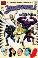 The Sentinels #032 - The Guild Nefarious (color) Comic Art