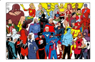 Sentinels - Standard Comics Encyclopedia - Image Comic Art