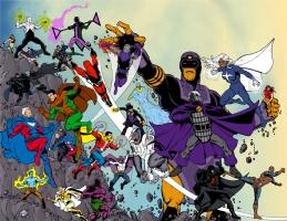 Standard Comics Encyclopedia - Cover Colors Comic Art