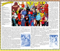 Sentinels - Standard Comics Encyclopedia Comic Art