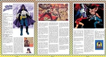 Grim Reaper - Standard Comics Encyclopedia Comic Art