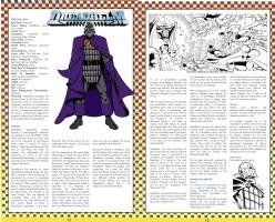 Dreadhelm - Standard Comics Encyclopedia Comic Art