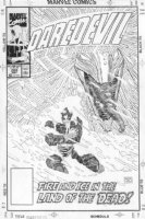 Daredevil #280 Cover Comic Art