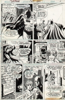 Batman #271 page 9 Comic Art