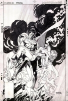 DC Comics Presents #56 Cover - Superman & Power Girl Comic Art