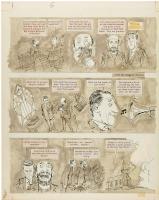 Sick Magazine Church Jazz Page (Crestwood Publications, c. 1960s) Comic Art