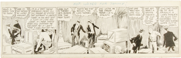 Tailspin Tommy Daily Comic Strip #917 (Bell Syndicate, 1931) Comic Art