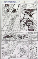 JLX Unleashed 1 pg17 by Oscar Jimenez Comic Art