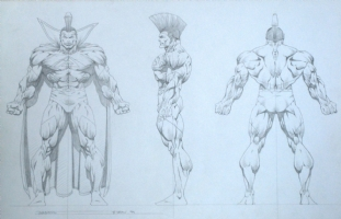 Gladiator by Bart Sears Comic Art