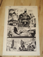 Kelley Jones Batman 524 page 3 Comic Art