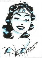 2006 Wonder Woman by Darwyn Cooke, Comic Art