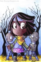 2012 Michonne by Agnes Garbowska, Comic Art