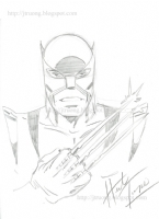 2008 Wolverine by Herb Trimpe Comic Art