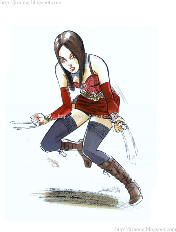 2012 X-23 by Kagan McLeod Comic Art