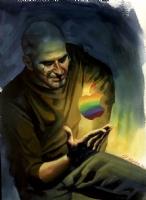 Steve Jobs Tribute Art by Steve Rude Comic Art