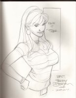 Mary Jane Comic Art