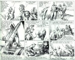 Alex Raymond: Flash Gordon, 2-23-1936 Comic Art