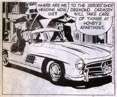 Raymond's Mercedes Comic Art
